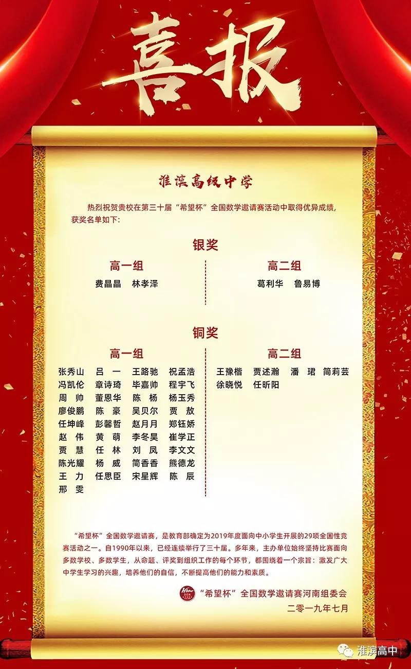 学科竞赛再传捷报 自主招生锦上添花